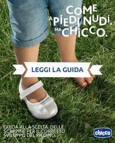 Guida alla scelta delle scarpine per il corretto sviluppo del piedino.
