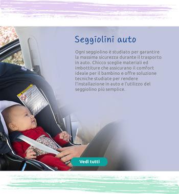 Ogni seggiolino è studiato per garantire la massima sicurezza durante il trasporto in auto.