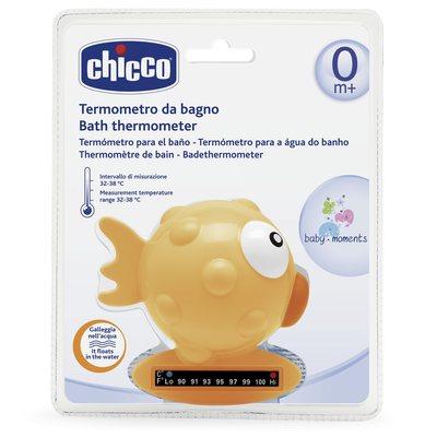 Termometro da bagno pesce palla Arancione