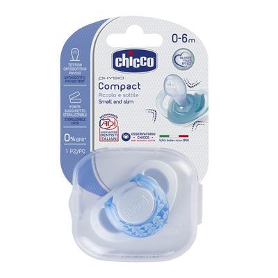 Succhietto Physio Ring 0-6m Azzurro Silicone