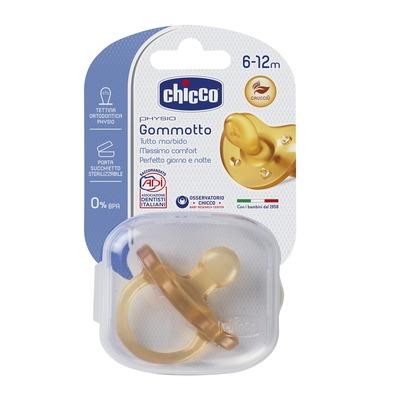Succhietto Gommotto Physio 6-12m Caucciù