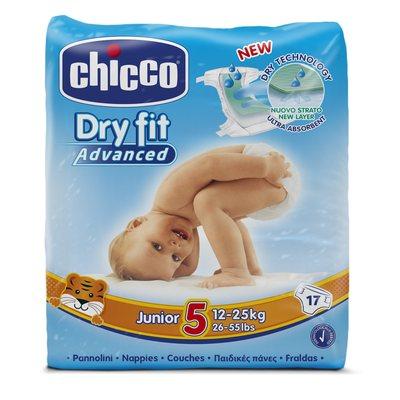Pannolini DryFit Advanced Junior 12-25 kg taglia 5