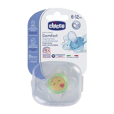 Succhietto Phisio Comfort 6-12m Smile Silicone