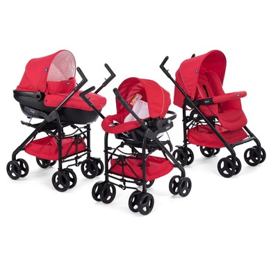 Trio Sprint Con Kit Car Red Passion