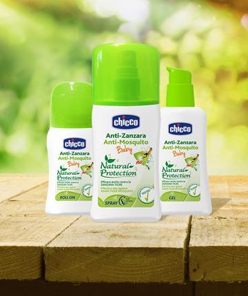 Prodotti antizanzara Chicco: dalle foglie di Eucalipto australiano, insetto repellenti.