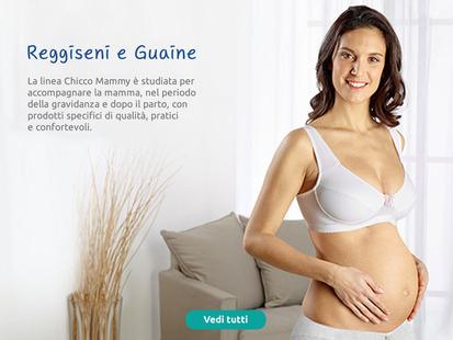 Linea Chicco Mammy studiata per accompagnare la mamma nel periodo della gravidanza e dopo il parto.