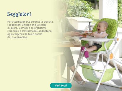 Comodi e coloratissimi, reclinabili e trasformabili, i seggioloni soddisfano ogni esigenza.