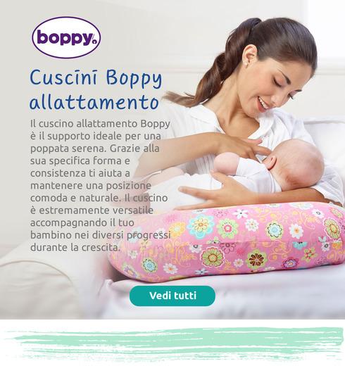 Il cuscino allattamento Boppy è il supporto ideale per una poppata serena.