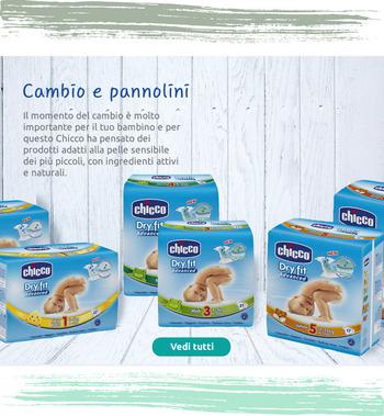Pannolini adatti alla pelle sensibile dei più piccoli, con ingredienti attivi e naturali.