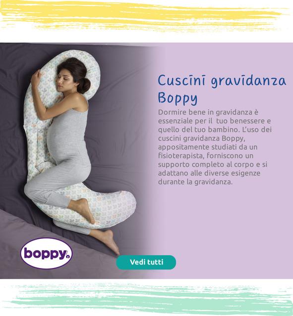 Un supporto completo al corpo per le diverse esigenze durante la gravidanza.