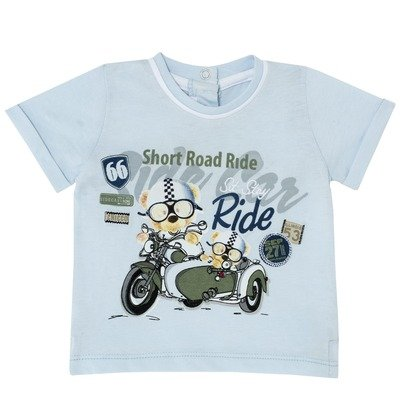 T-shirt orsetto in sidecar