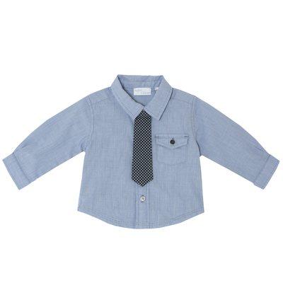 Camicia con cravatino