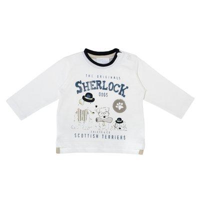 T-shirt cagnolini Sherlock
