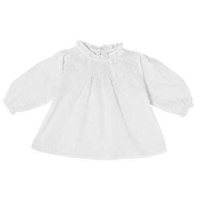 Camicia ricamata bimba