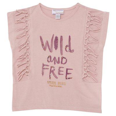 T-shirt frange