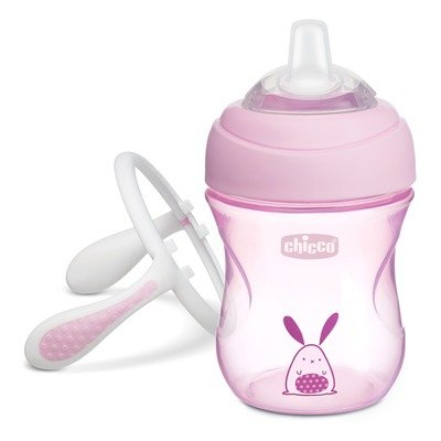 Tazza Transition Cup 200 ml 4m+ Rosa