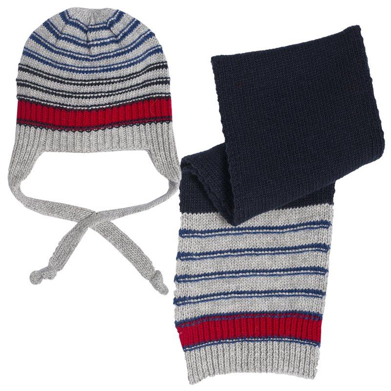 Top SET 2PZ CAPPELLO+SCIARPA - Set sciarpa e cappello Essere bimbo  YF88