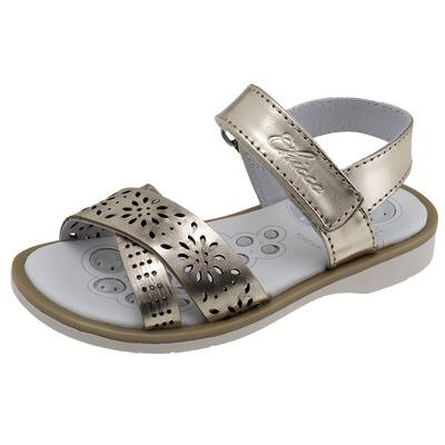 Sandalo con fasce incrociate Caffy